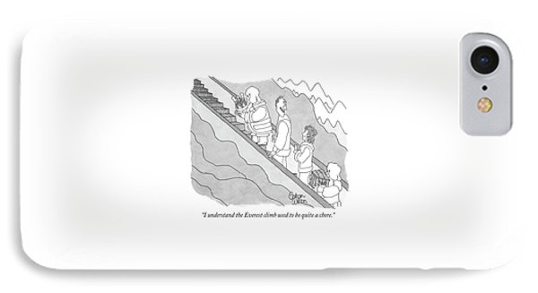 I Understand The Everest Climb Used IPhone Case