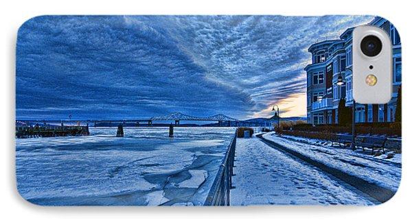 Ice Station Hudson IPhone Case
