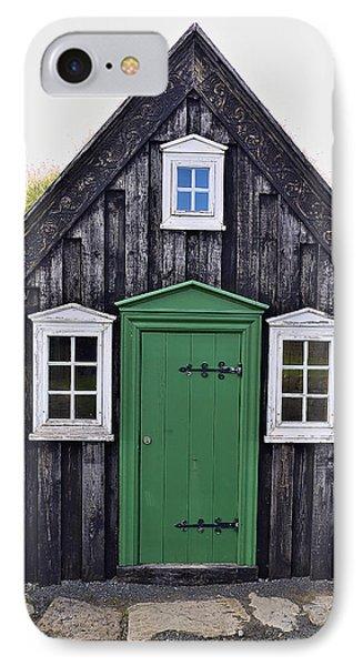 Icelandic Old House IPhone Case
