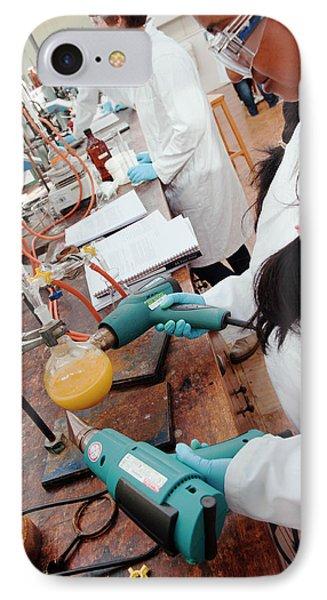 Identifying The Chemicals In Orange Peel IPhone Case