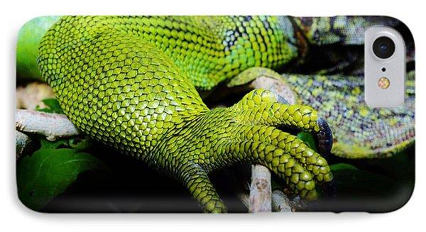 Iguana Details IPhone Case