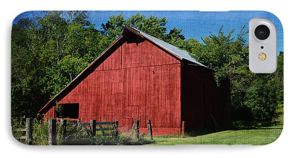 Illinois Red Barn 2 IPhone Case