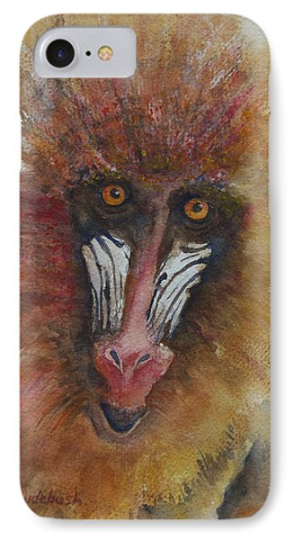 I'm Not Just A Monkey I'm A Mandrill IPhone Case