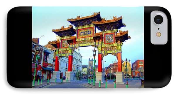 Imperial Chinese Arch Liverpool Uk IPhone Case