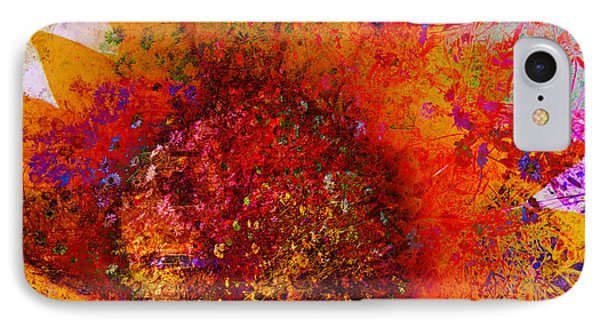Impressionistic Colorful Flower  IPhone Case