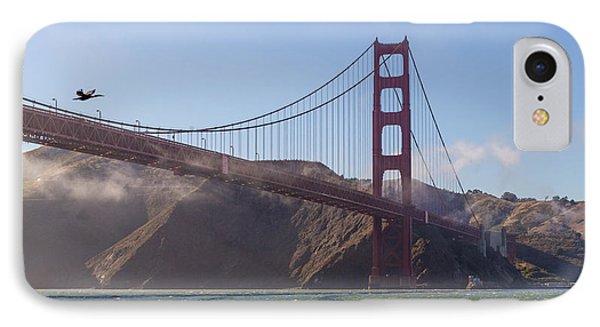 In Flight Over Golden Gate IPhone Case