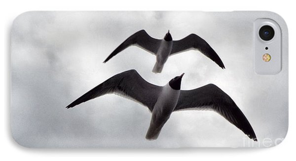 In Sync Flying IPhone Case