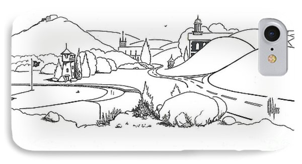 In The Land Of Brigadoon  IPhone Case