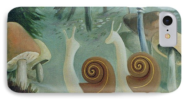In The Mushroom Forest IPhone Case