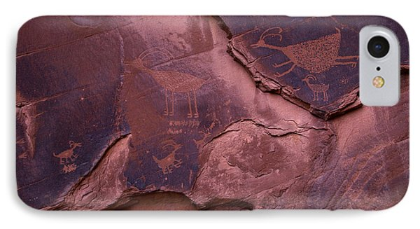 Indian Cave Art IPhone Case