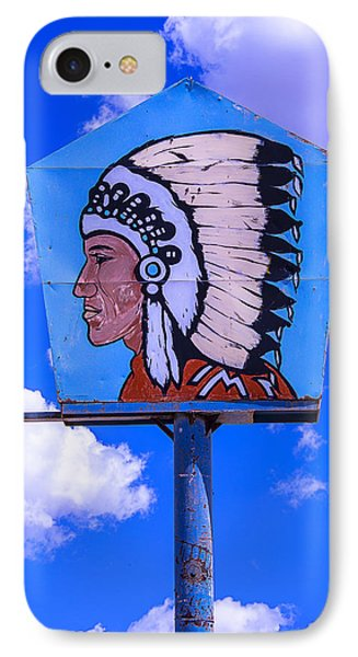 Indian Chief Sign IPhone Case