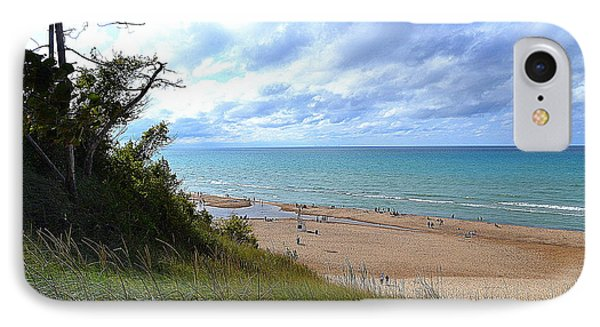 Indiana Dunes Beachscape IPhone Case