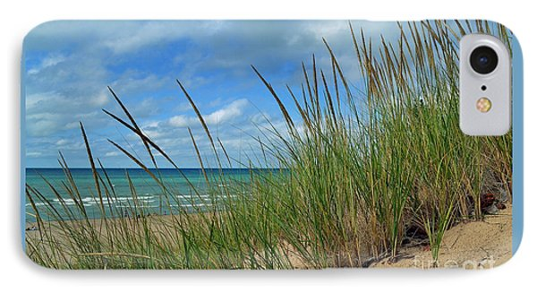 Indiana Dunes Sea Oats IPhone Case