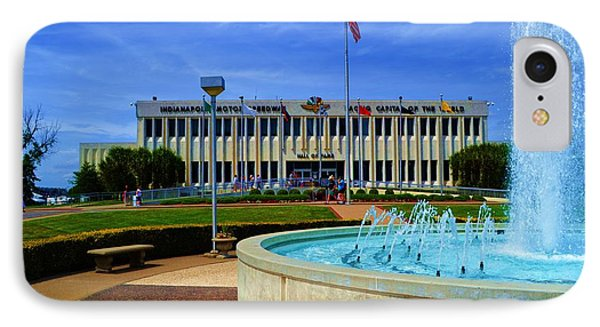 Indianapolis Motor Speedway Museum IPhone Case