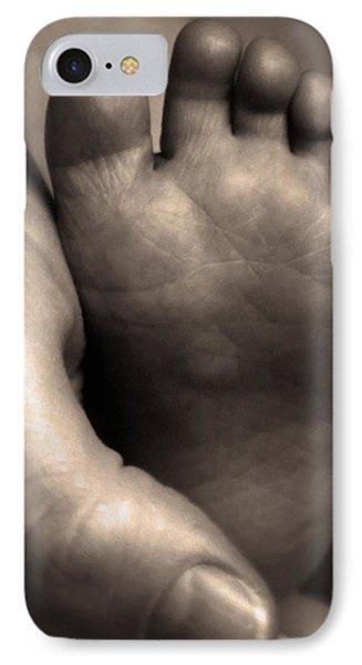 Infants Foot IPhone Case