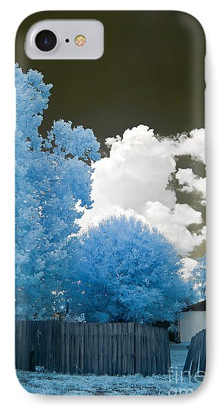 Infrared Broken Fence IPhone Case