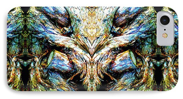 Ingrained Wings IPhone Case