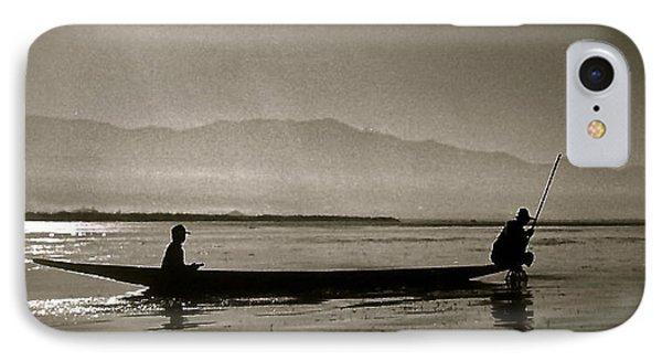 Inle Fishermen IPhone Case
