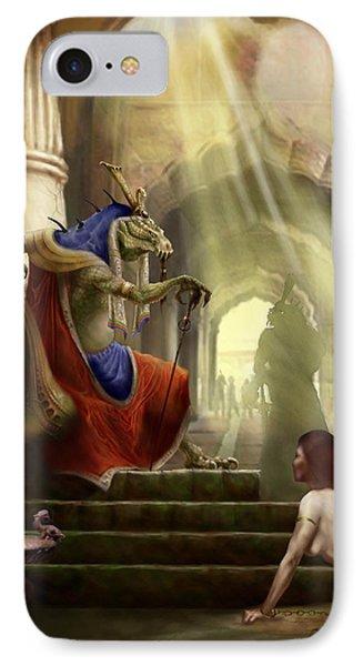 Dungeon iPhone 8 Case - Inquisition by Matt Kedzierski