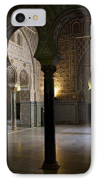 Inside The Alcazar Of Seville IPhone Case