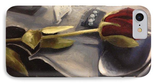 Violin iPhone 8 Case - Interlude by Alison Schmidt Carson