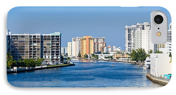 Intracoastal Waterway In Hollywood Florida IPhone Case