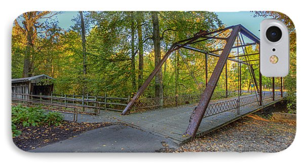 Iron Bridge At Yellow Creek IPhone Case