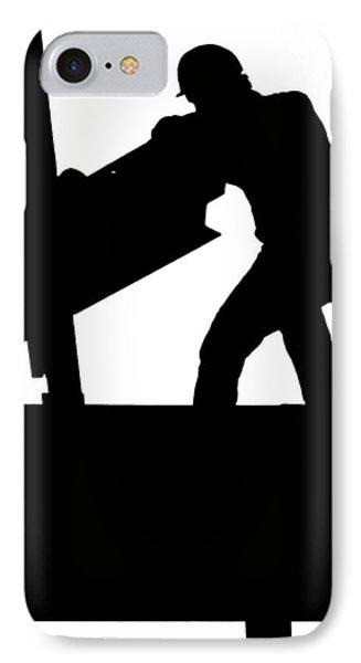 Ironworker 1 IPhone Case