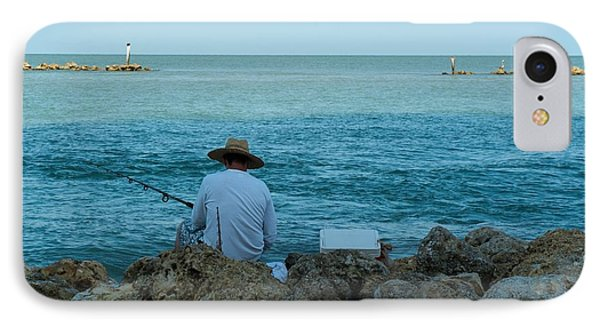 Island Fisherman IPhone Case