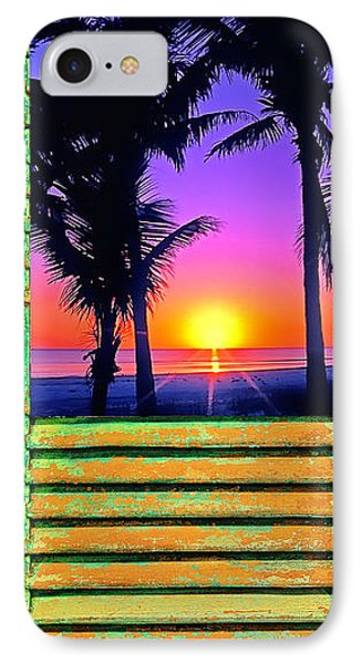 Island Shutter IPhone Case