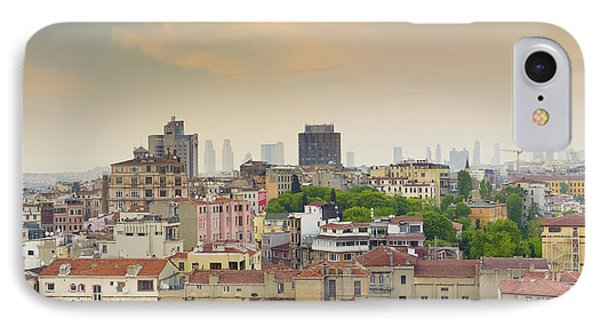 Istanbul Skyline IPhone Case