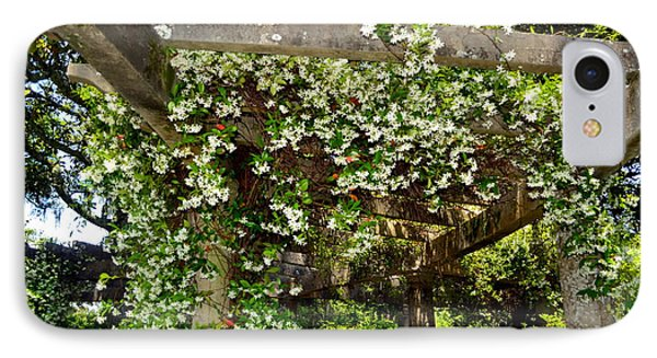Italian Pergola Flowers  IPhone Case