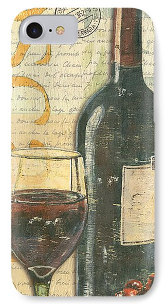 Fruit iPhone 8 Case - Italian Wine And Grapes by Debbie DeWitt