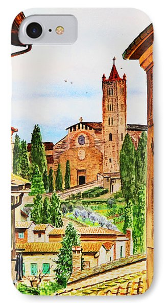 Italy Siena IPhone Case