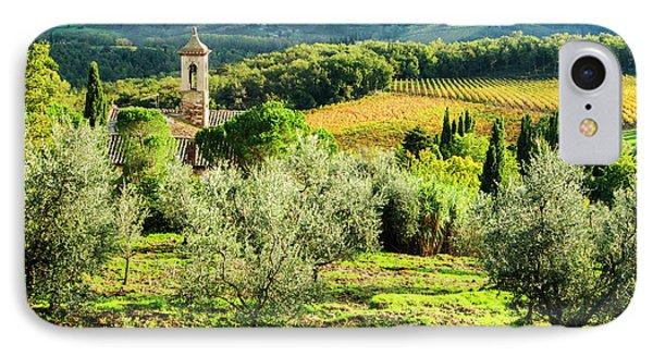 Italy, Tuscany, Pieve Di Santa Maria IPhone Case
