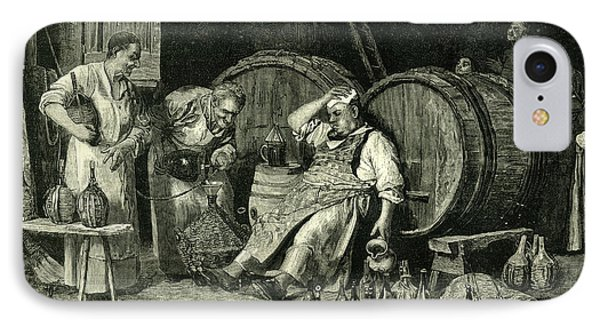 Italy Wine Tasting 1881 IPhone Case