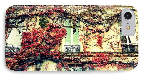 Ivy Growing On A Wall   IPhone Case