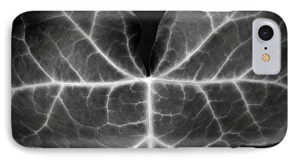 Black And White Flowers Macro Photography Art Work IPhone Case