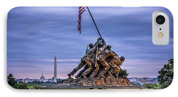 Iwo Jima Monument IPhone Case