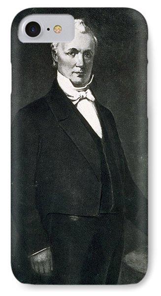 James Buchanan IPhone Case