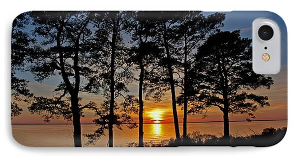 James River Sunset IPhone Case