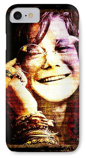 Janis Joplin - Upclose IPhone Case