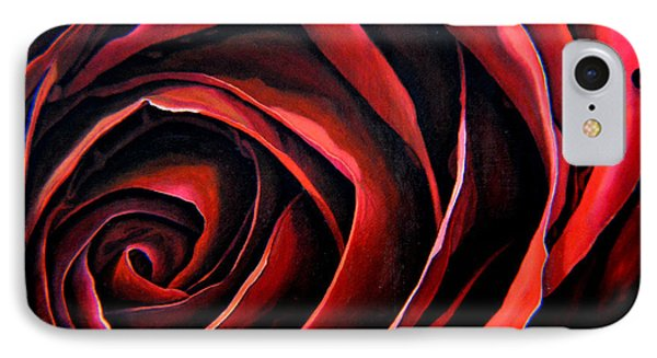 January Rose IPhone Case