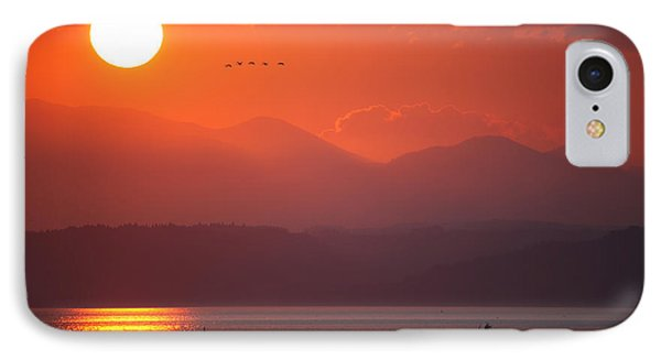 Japanese Sunset IPhone Case