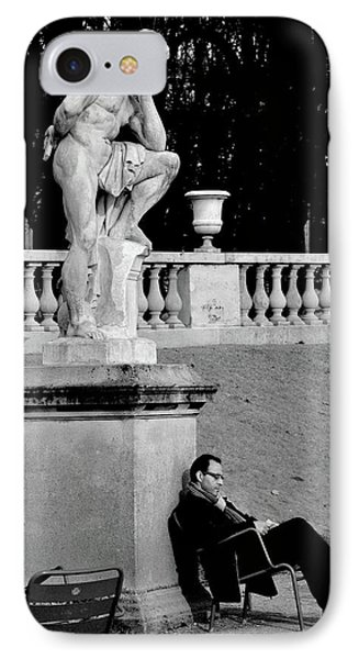 French iPhone 8 Case - Jardin Du Luxembourg by St??phane Breton