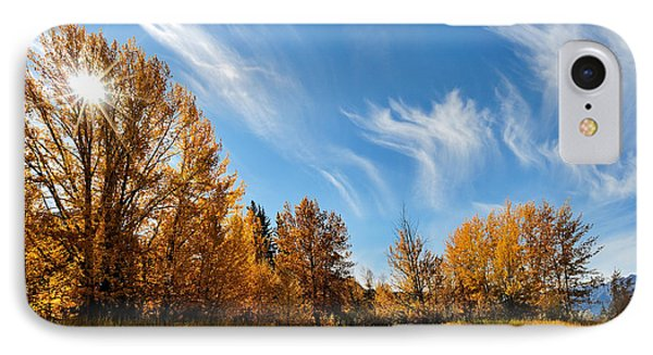 Jasper - Autumn Sky Chief IPhone Case