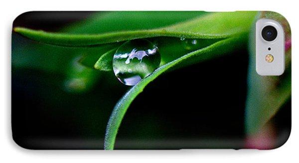 Jasper - Rain Drop Plant IPhone Case