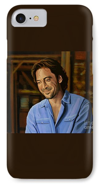 Javier Bardem Painting IPhone Case