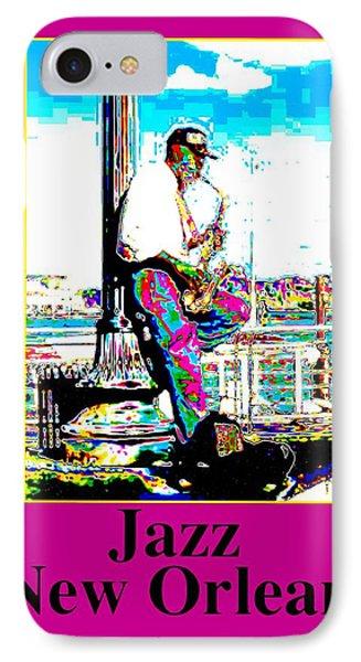 Jazz Sax IPhone Case