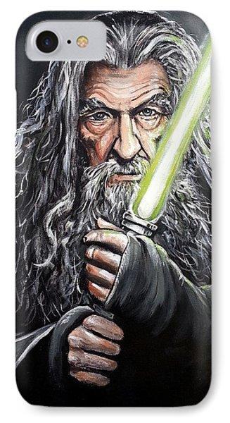 Jedi Master Gandalf IPhone Case